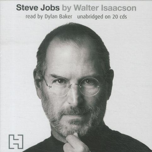 Steve Jobs - Audio Cd - The Exclusive Biography - Unabridged On 20 Cds