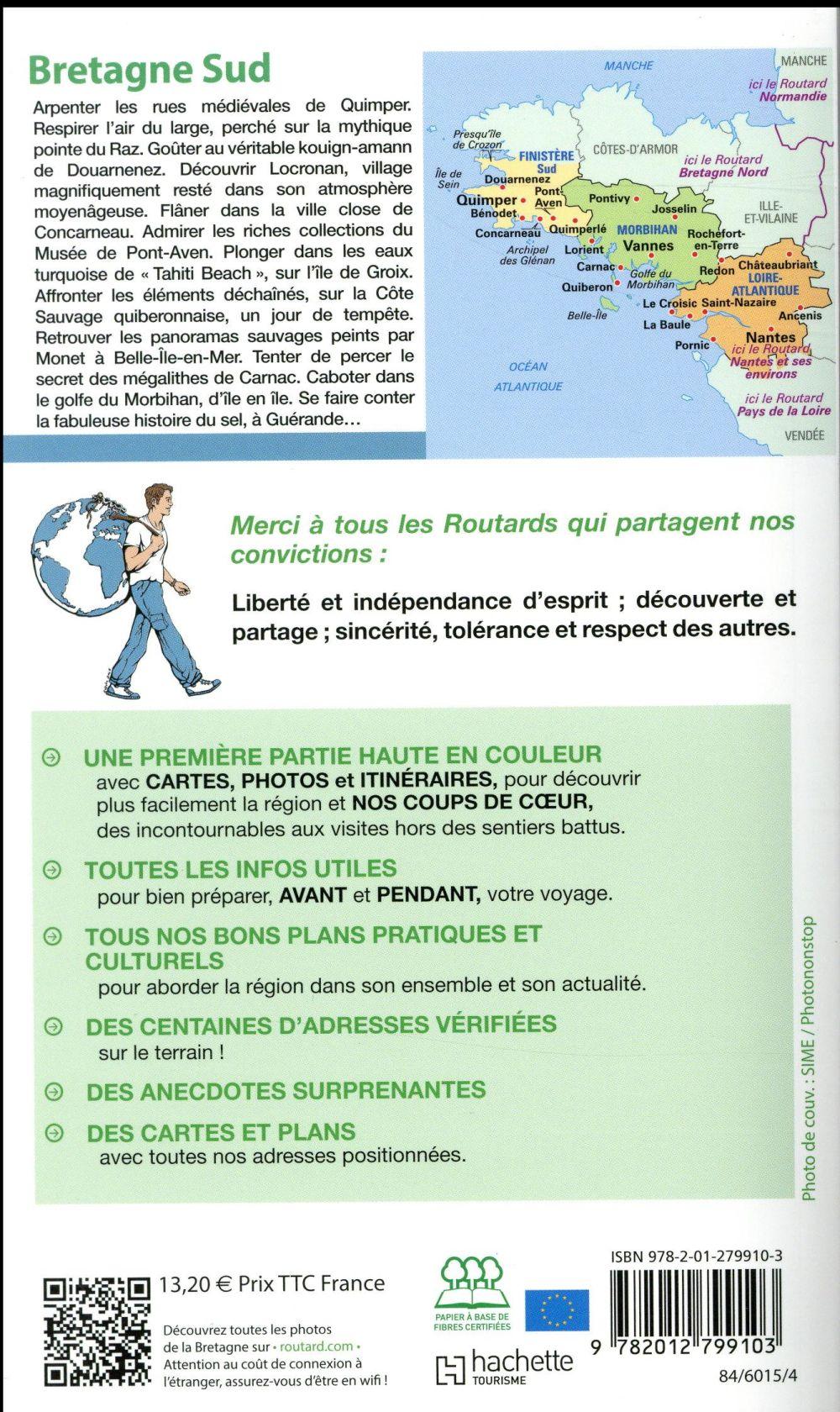 Guide du Routard ; Bretagne Sud (édition 2017)