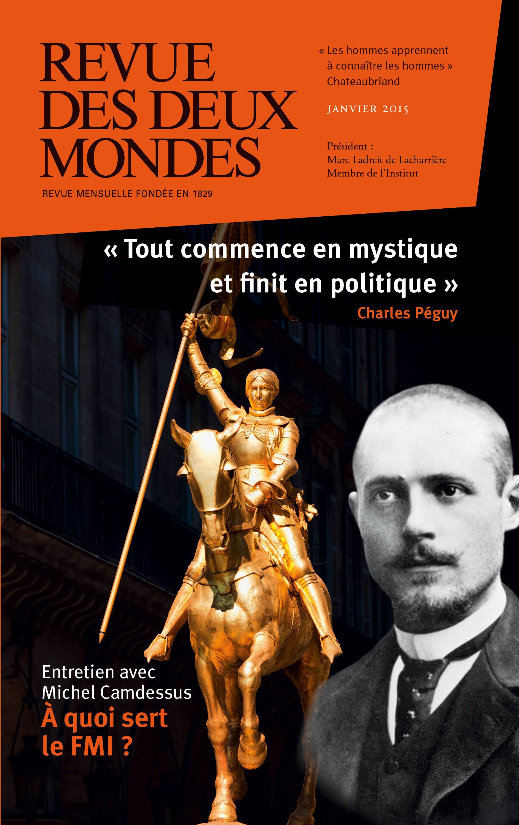 REVUE DES DEUX MONDES ; politique et mystique