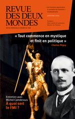 Vente EBooks : Revue des Deux Mondes janvier 2015  - Eric Roussel - Michel Crépu - François Ponchaud - Eryck de Rubercy - Frédéric Verger - Marc-Antoine Brillant - Kyrill Nikitine