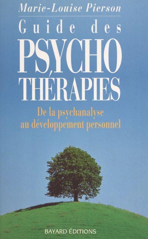 Guide des psychothérapies