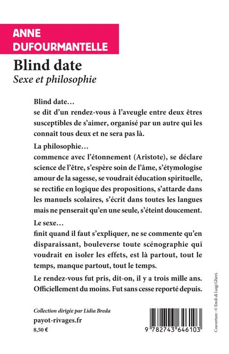 Blind date ; sexe et philosophie