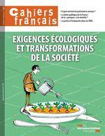Vente Livre Numérique : Cahiers français : Exigences écologiques et transformations de la société - n°401  - La Documentation française