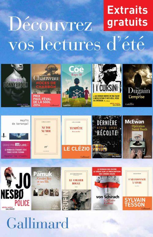Extraits gratuits - Lectures d'été Gallimard 2014