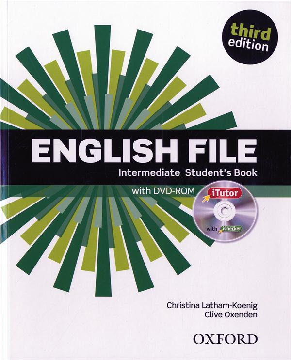 English file 3rd edition intermediate: student's book & itutor pack