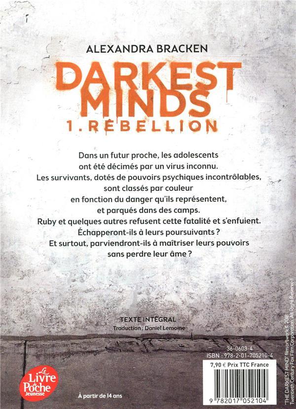 Darkest minds T.1 ; rébellion