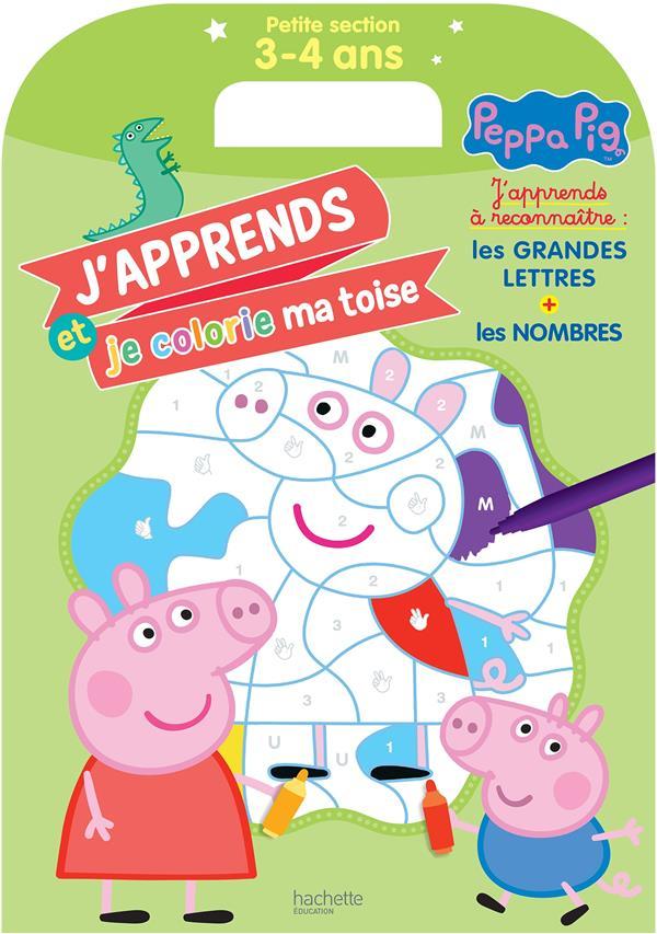 Peppa Pig Peppa Pig Ma Toise A Colorier Ps Collectif Hachette Education Papeterie Coloriage Maison Du Livre Rodez