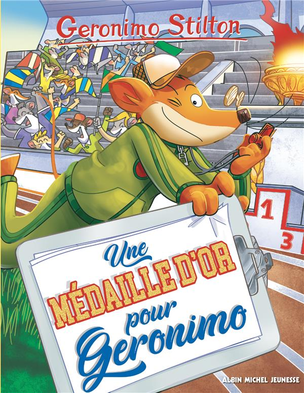 UNE MEDAILLE OLYMPIQUE POUR GERONIMO