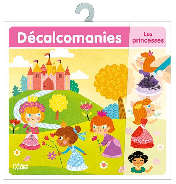 les princesses ; décalcomanies
