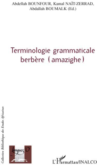 Terminologie Grammaticale Berbere (Amazighe)