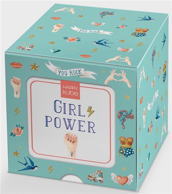 Happy kube ; girl power