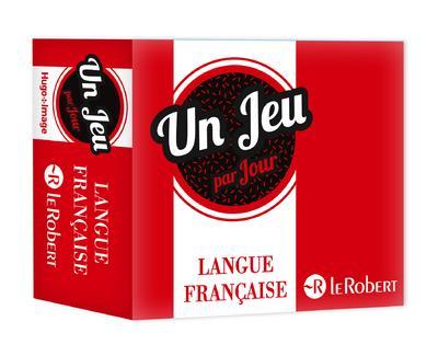 UN JEU PAR JOUR LANGUE FRANCAISE (EDITION 2020) LE ROBERT