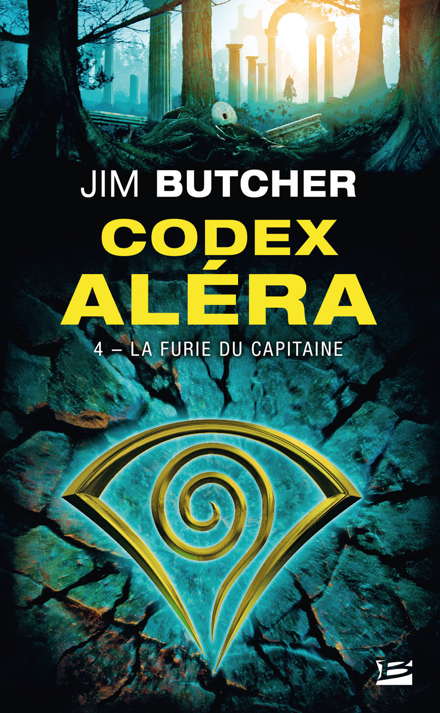 Codex Aléra T.4 ; la furie du capitaine