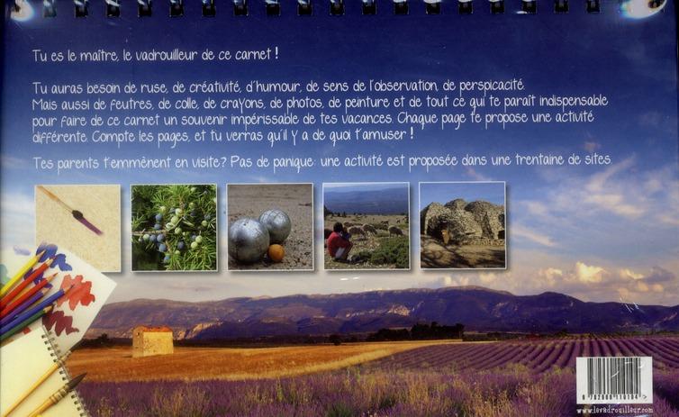 Le carnet du vadrouilleur ; Provence Côte d'Azur ; guide de voyage interactif pour curieux en herbe