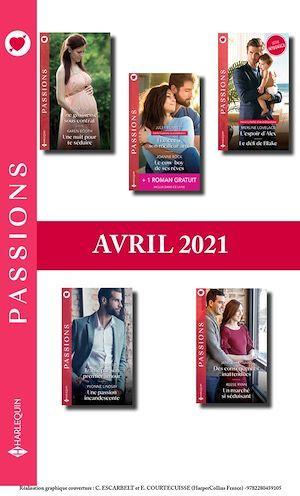 Packs mensuel Passions : 10 romans + 1 gratuit (Avril 2021)  - Collectif