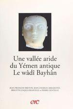 Une vallée aride du Yémen antique, le wâdî Bayhân