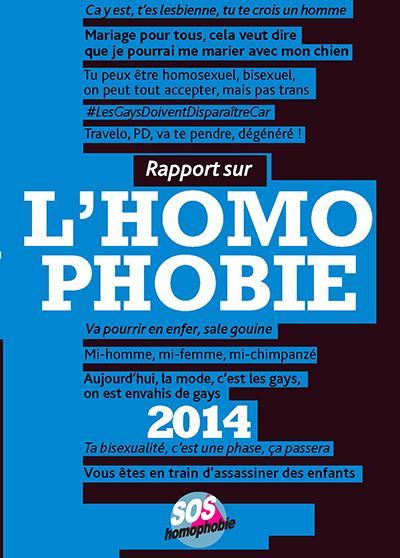 rapport sur l'homophobie 2014