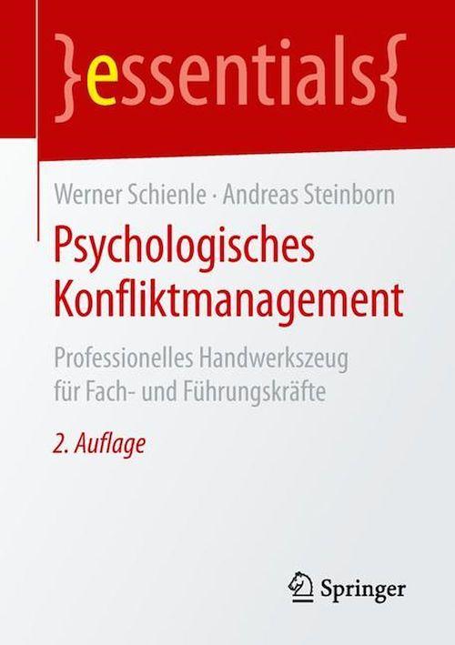 Psychologisches Konfliktmanagement  - Werner Schienle  - Andreas Steinborn
