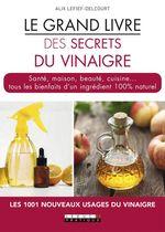 Vente Livre Numérique : Le grand livre des secrets du vinaigre ; santé, maison, beauté, cuisine... tous les bienfaits d'un ingrédient 100% naturel  - Alix Lefief-Delcourt