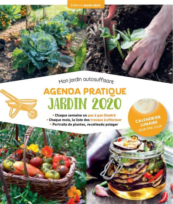 Agenda pratique jardin ; mon jardin autosuffisant (édition 2020)