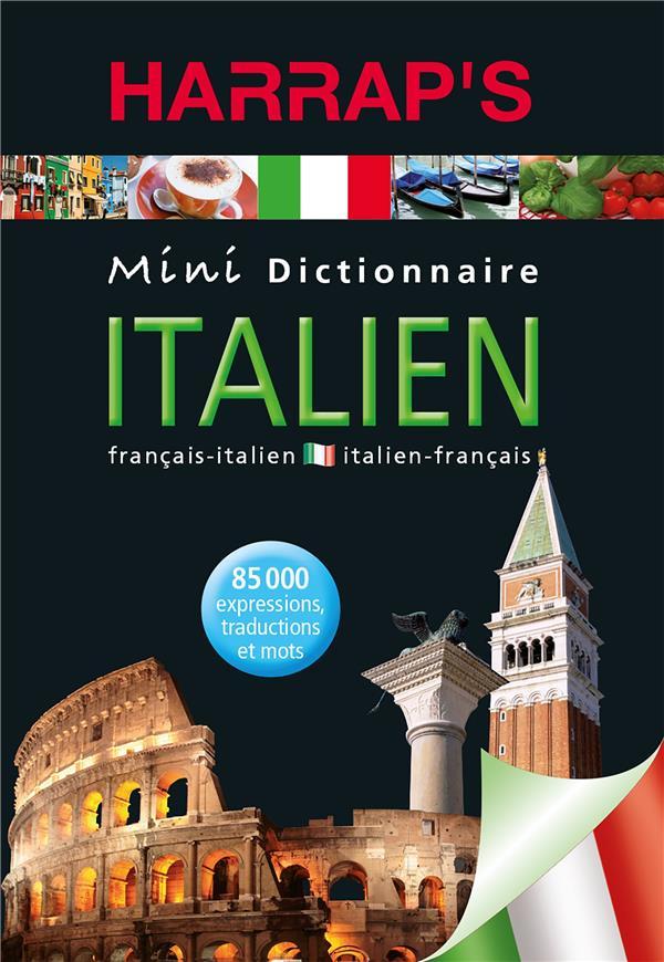 Mini Dictionnaire Harrap'S ; Italien-Francais / Francais-Italien (Edition 2010)