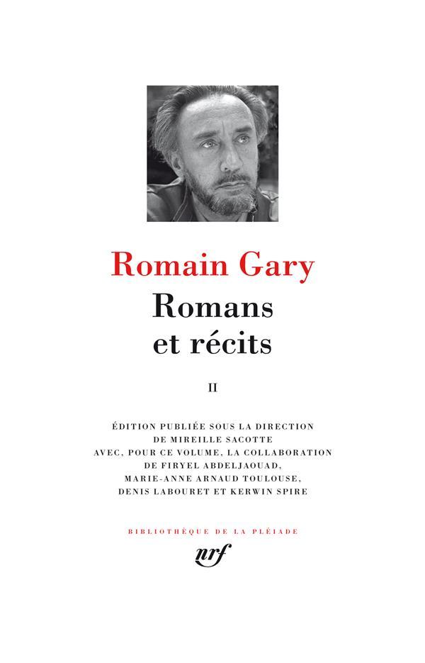 Romans et récits t.2