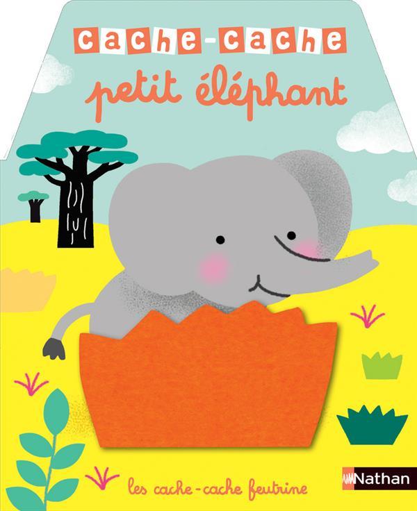 CACHE-CACHE ; petit éléphant