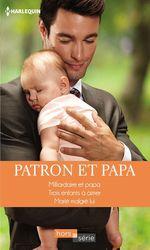 Vente Livre Numérique : Patron et papa  - Caroline Anderson - Leigh Michaels - Susan Meier