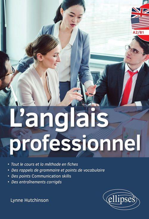 L'anglais professionnel ; niveau A2-B1