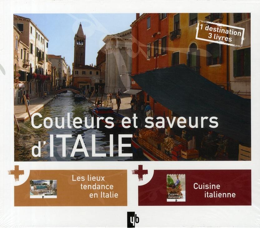 Coffret couleurs et saveurs d'Italie