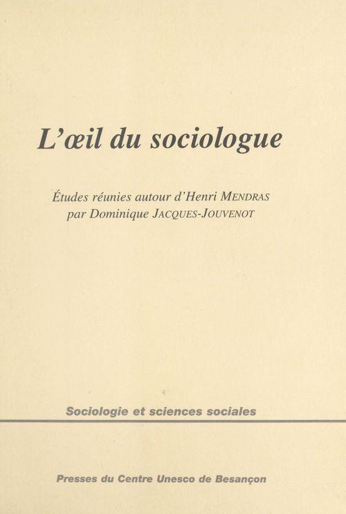 Oeil du sociologue