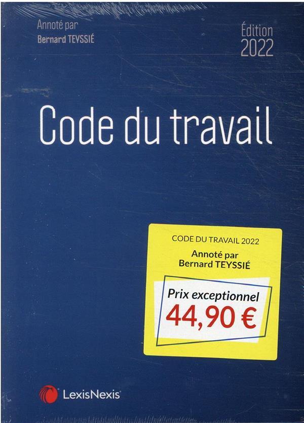 code du travail (édition 2022)