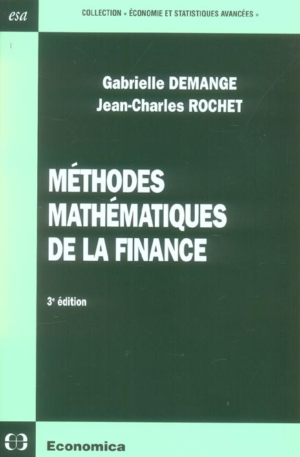 Methodes Mathematiques De La Finance