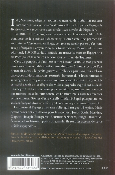 Napoleon et la folie espagnole