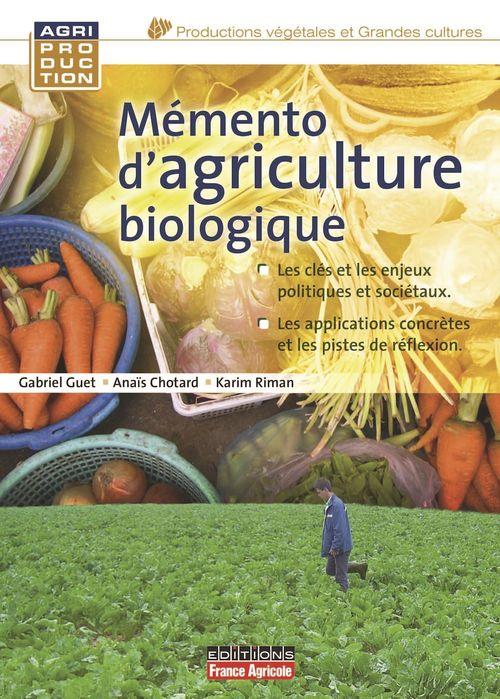 Memento d'agriculture biologique