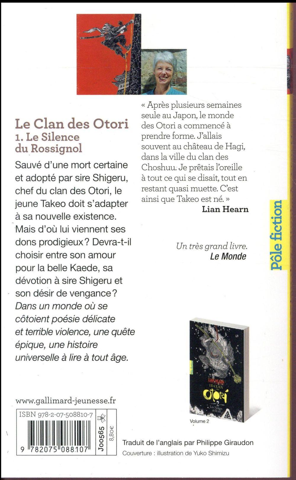 Le clan des Otori T.1 ; le silence du rossignol