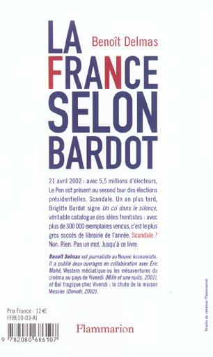 La france selon bardot - pamphlet