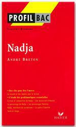 Vente Livre Numérique : Profil - Breton (André) : Nadja  - André BRETON - Vincent Debaene