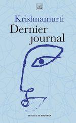 Vente Livre Numérique : Dernier journal  - Jiddu Krishnamurti