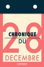 Vente EBooks : Chronique du 28 décembre  - Éditions Chronique