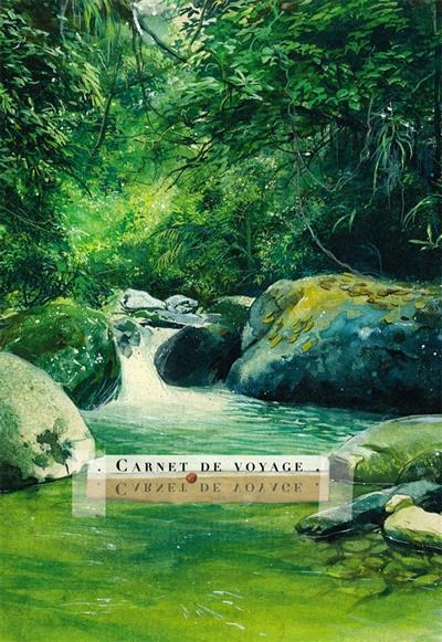 Carnet de voyage ; cascade