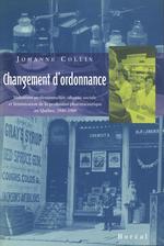 Changement d'ordonnance  - Johanne Collin