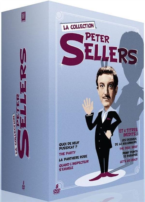 Peter Sellers, la collection - Coffret 10 films
