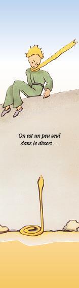 Marque-page Le Petit Prince T.20