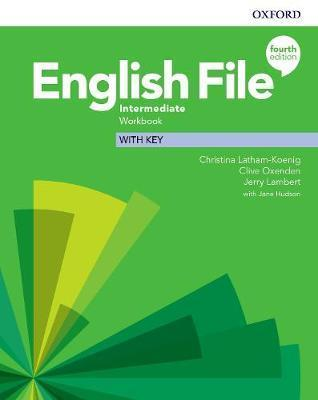 English file: 4th edition  intermediate. workbook with key  (paperback)