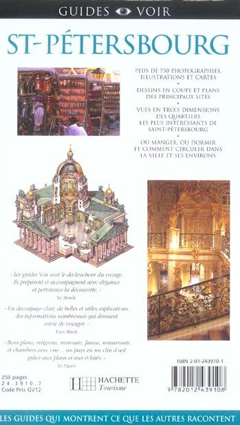 Guides voir ; saint-petersbourg