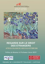 Vente EBooks : Regards sur le droit des étrangers  - Xavier Bioy - Collectif
