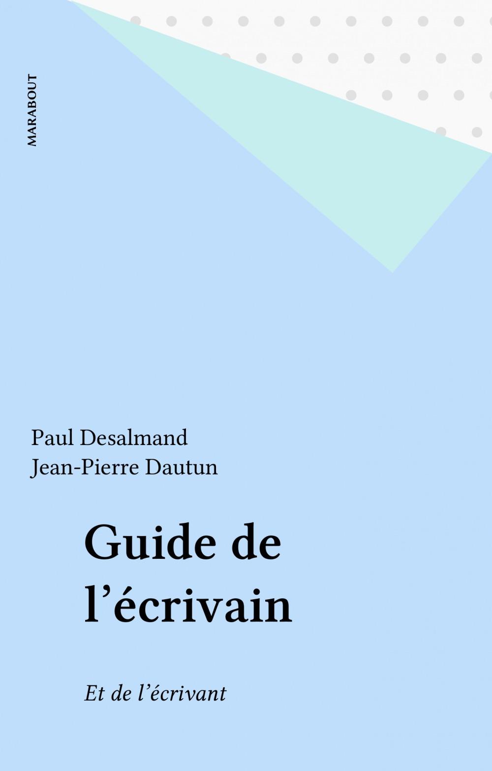 Guide de l'ecrivain