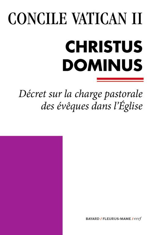 Concile Vatican II ; Christus Dominus