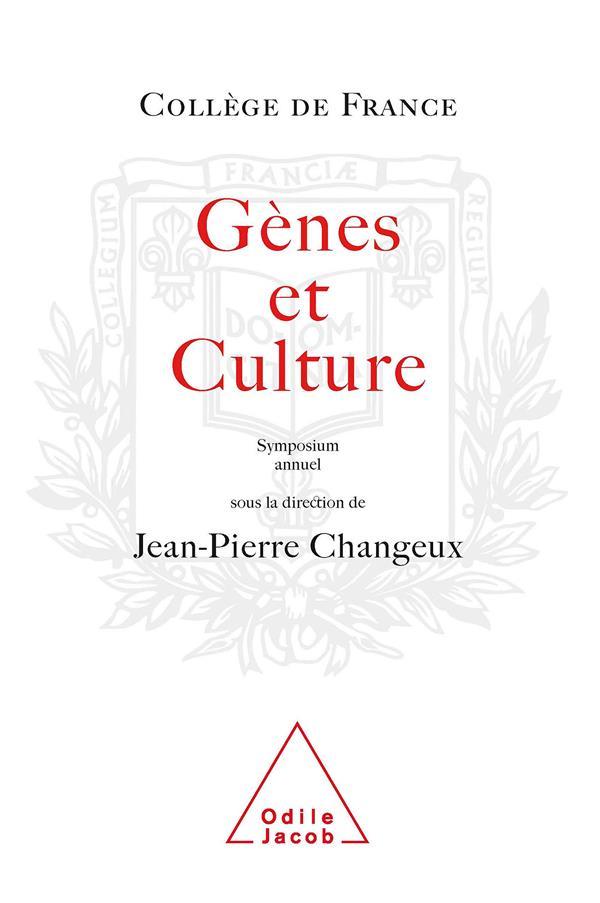 Genes et culture - travaux du college de france